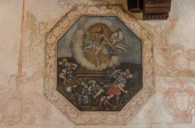 Affreschi Palazzo Pretorio - Vilminore di Scalve
