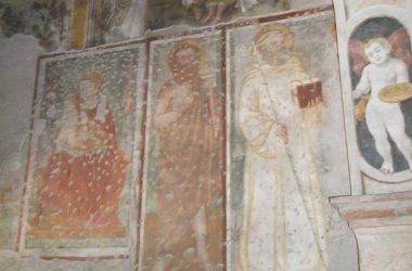 Affreschi Santuario della Madonna dell'Olmo