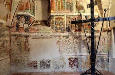 Affreschi nella Chiesa San Giacomo Chiesa Gromo