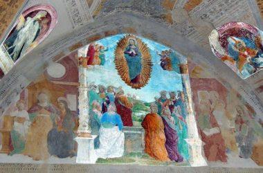 Affresco Cappella dell'Annunciata – Cerete Bg