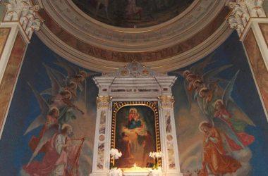 Albano Sant'Alessandro Bergamo Santuario della Madonna delle Rose