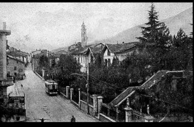 Albino La scalinata della villa Angeli e Lucchini