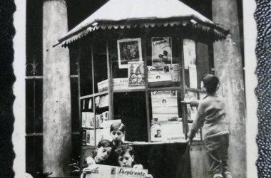 Albino edicola Sant'Anna, anno 1935