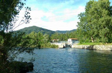 Almenno San Salvatore fiume brembo
