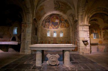 Altare Abbazia di sant'Egidio in Fontanella