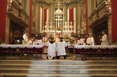Altare Chiesa Parrocchiale San Lorenzo Martire - Zogno