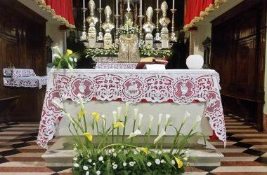 Altare Chiesa San Rocco Barzana