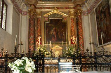 Altare Chiesa di Santa Elisabetta di Valbondione
