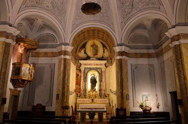 Altare Chiesa di san Rocco Albino