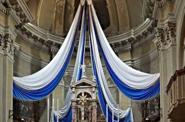 Altare Madonna del Rosario - Carona