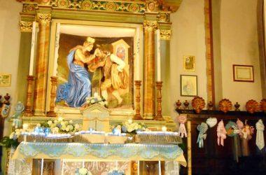 Altare Madonna delle Fontane Colere