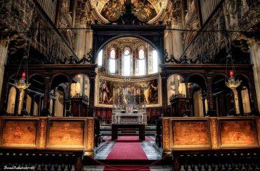 Altare Santa Maria Maggiore a Bergamo