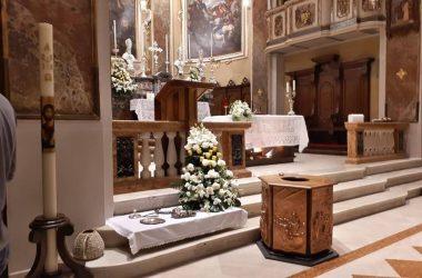 Altare chiesa Adrara San Rocco