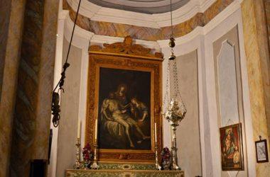 Altare interno Chiesa di san Rocco Albino
