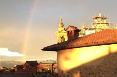 Arcobaleno Chiesa di Sforzatica Dalmine