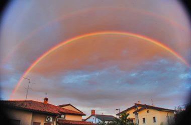 Arcobaleno a Mozzanica