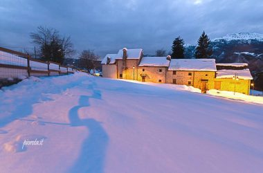 Arnosto con neve Fuipiano Valle Imagna