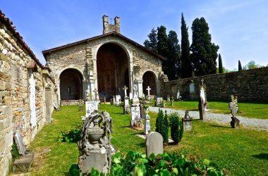 Basilica Santa Giulia ora cimitero Bonate Sotto