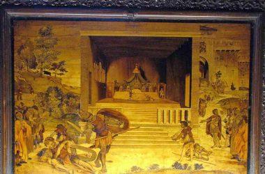 Basilica di Santa Maria Maggiore Tavole intarsiate su disegni del Lotto