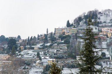 Bergamo con la neve