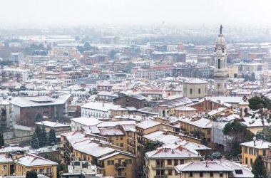 Bergamo e la neve