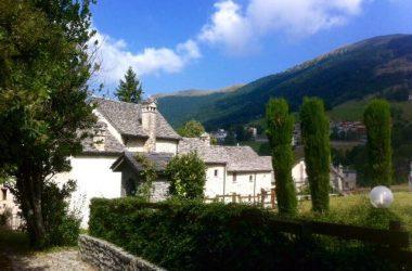 Borgo di Arnosto di Fuipiano valle Imagna