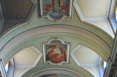 Branzi- Bergamo - la chiesa parrocchiale di San Bartolomeo apostolo