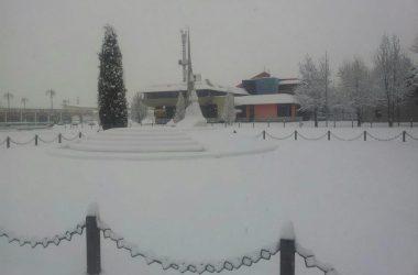 Brembate di Sopra con la neve