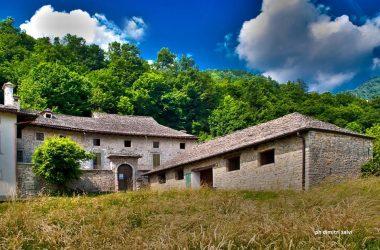 Cà Berizzi,gioiello architettonico di Corna d'Imagna