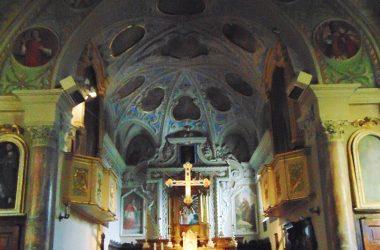 Capizzone Altare chiesa parrocchiale di San Lorenzo