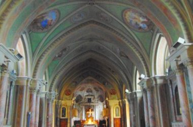 Capizzone Bergamo chiesa parrocchiale di San Lorenzo