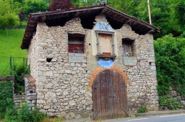 Capizzone Bergamo..ex fienile