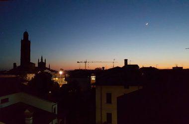 Caravaggio di sera