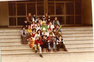 Carnevale 1980 classe 1969 Bonate Sotto