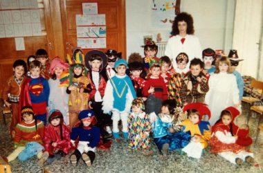 Carnevale asilo Brembate Sopra 1987