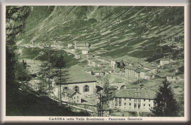 Carona - Cartolina spedita nel 1928