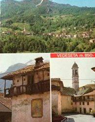 Cartolina da Vedeseta