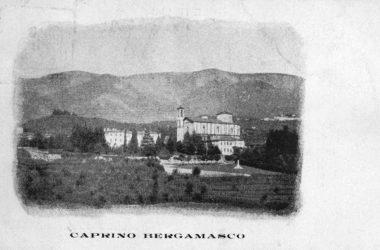 Cartolina storica Caprino Bergamasco