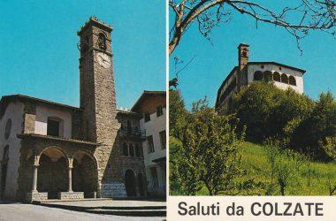 Cartoline storiche Santuario di San Patrizio - Colzate