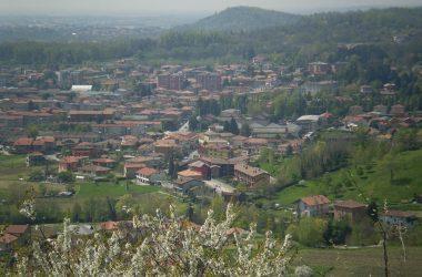 Carvico Foto panoramica dalla Torre di San Giovanni