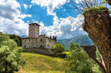 Castello Suardi Bianzano Bergamo