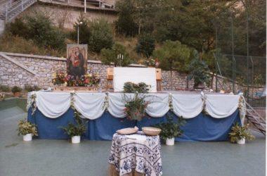 Castro Altare allestito in v. 1° Maggio(parco giochi)