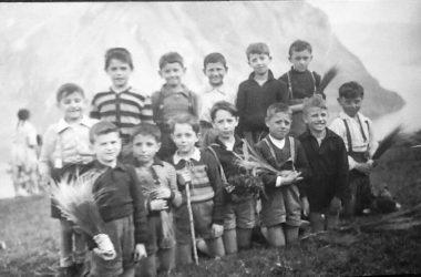 Castro Anno 1950. Gita sul monte Cerrete
