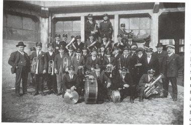 Castro Banda musicale anno 1920