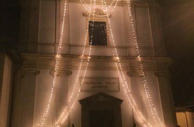 Chiesa Curno Illuminata