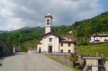 Chiesa di Camorone, frazione di Val Brembilla
