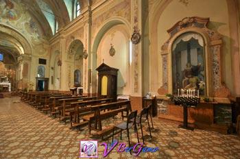 Chiesa di San Giovanni Battista a Sogno - Torre de Busi Bergamo