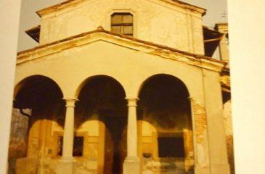 Chiesetta del Ravarolo prima del restauro 1991