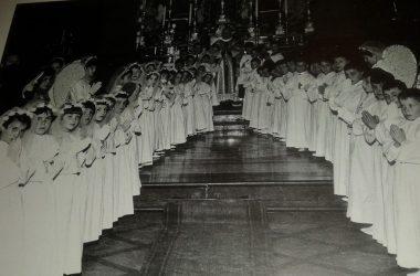 Comunioni del 1955 Fiorano al Serio