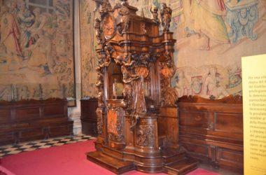Confessionale Basilica Santa Maria Maggiore - Bergamo
